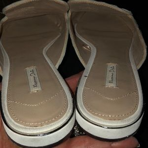 Massimo Dutti Shoes - Massimo Dutti multi color stitched detailing .